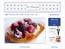 La Famiglia restaurant website