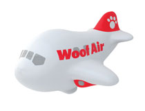 Pet Banana &#8211; Woof Air squeaky <br />dog toy