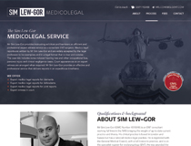 Sim Lew–Gor Medicolegal website